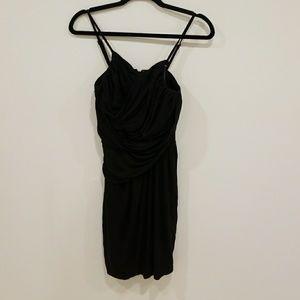 Express Black Spagetti Strap Dress
